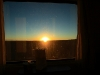 Sunrise from Train